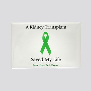 Kidney Transplant Survivor Rectangle Magnet