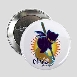 "Ninja Squirrel 2.25"" Button"