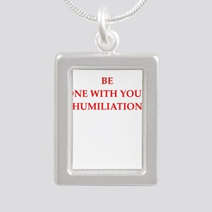 Funny joke on gifts and t-shirts. Necklaces