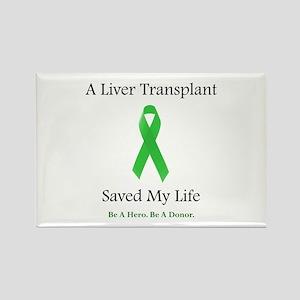 Liver Transplant Survivor Rectangle Magnet
