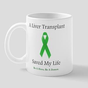 Liver Transplant Survivor Mug
