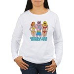 Animals Are Human Too! Women's Long Sleeve T-Shirt