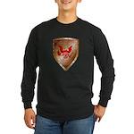 Tea Party Warrior Long Sleeve Dark T-Shirt