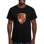 Tea Party Warrior Men's Fitted T-Shirt (dark)