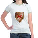 Tea Party Warrior Jr. Ringer T-Shirt