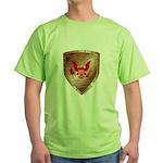 Tea Party Warrior Green T-Shirt
