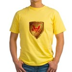 Tea Party Warrior Yellow T-Shirt