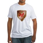 Tea Party Warrior Fitted T-Shirt