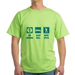 Paleo, healthy Green T-Shirt