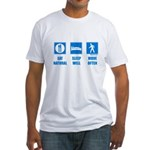 Paleo, healthy Fitted T-Shirt