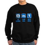 Paleo, healthy Sweatshirt (dark)