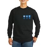 Paleo, healthy Long Sleeve Dark T-Shirt