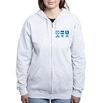 Paleo, healthy Women's Zip Hoodie