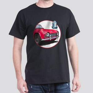 The red TR4 Dark T-Shirt