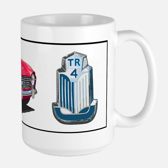 TR4red-bev Mugs