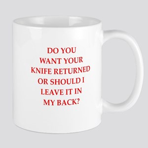 knife Mugs