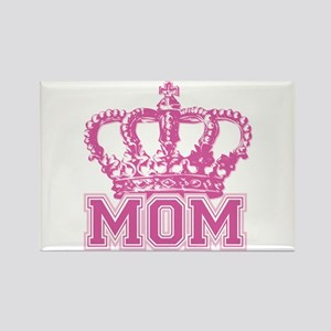 Crown Mom Rectangle Magnet