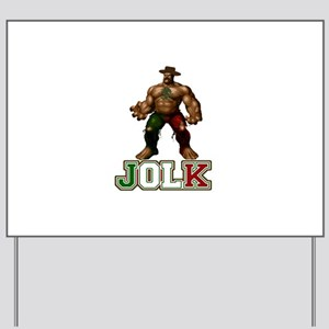 El Jolk Yard Sign