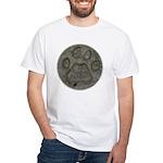 I'd Rather be Tracking Bobcat White T-Shirt