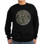I'd Rather be Tracking Bobcat Sweatshirt (dark)