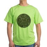 I'd Rather be Tracking Bobcat Green T-Shirt