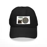I'd Rather be Tracking Bobcat Black Cap