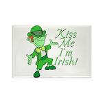 Kiss Me -- I'm Irish Rectangle Magnet (10 pack)