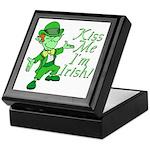 Kiss Me -- I'm Irish Keepsake Box