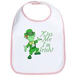 Kiss Me -- I'm Irish Bib
