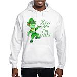 Kiss Me -- I'm Irish Hooded Sweatshirt