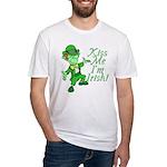 Kiss Me -- I'm Irish Fitted T-Shirt