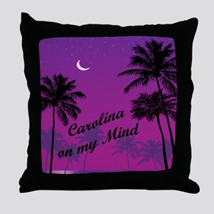 Carolina On My Mind Throw Pillow