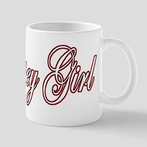 Jersey Girl red white black Mug