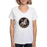 FBI Bomb Technician Women's V-Neck T-Shirt