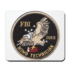 FBI Bomb Technician Mousepad