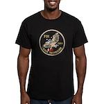 FBI Bomb Technician Men's Fitted T-Shirt (dark)