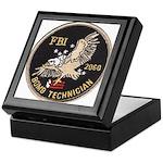 FBI Bomb Technician Keepsake Box