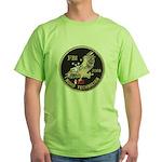 FBI Bomb Technician Green T-Shirt