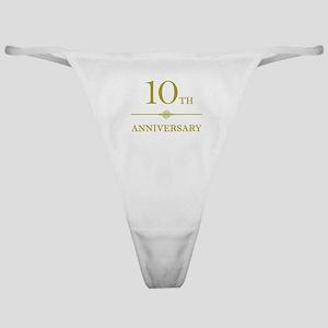 Stylish 10th Anniversary Classic Thong
