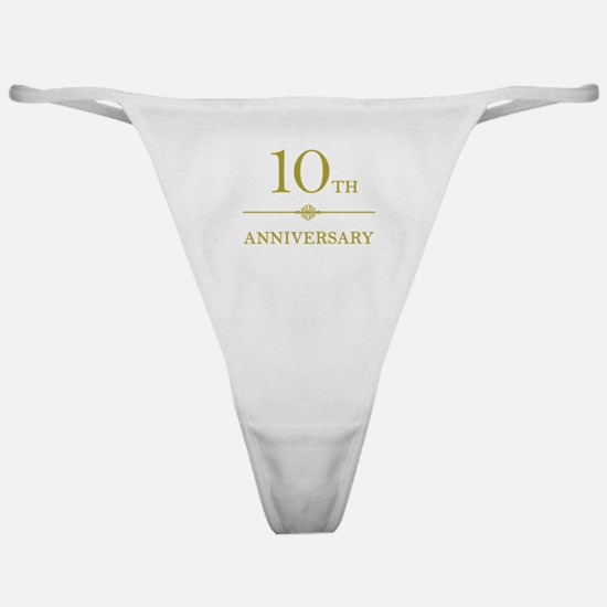 Stylish 10th Anniversary Classic Thong