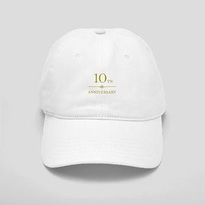 Stylish 10th Anniversary Cap