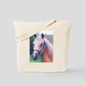 Morgan Palomino Head Tote Bag