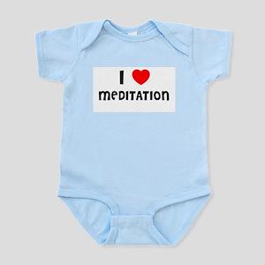 I LOVE MEDITATION Infant Creeper