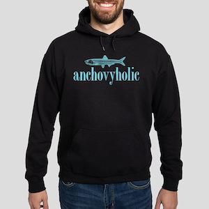 I Love Anchovies Hoodie (dark)