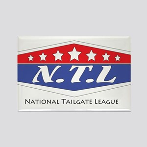 National Tailgate League Rectangle Magnet