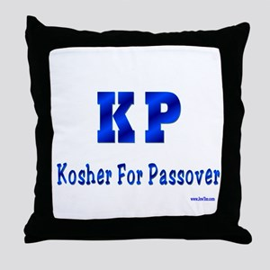 KP Kosher For Passover Throw Pillow