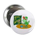 Happy St. Patricks Day Button