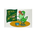 Happy St. Patricks Day Rectangle Magnet (100 pack)