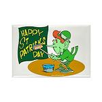 Happy St. Patricks Day Rectangle Magnet