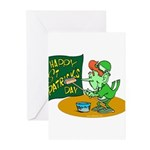Happy St. Patricks Day Greeting Cards (Package of